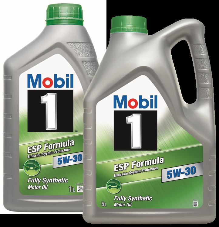 Goedgekeurde motorolie mobil 1 esp formula 5w30