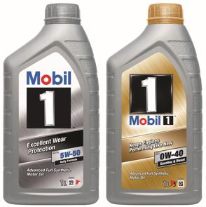 Mobil 1 FS X1 5W50 Mobil 1 FS 0W40 Mobil 1 New Life 0W40