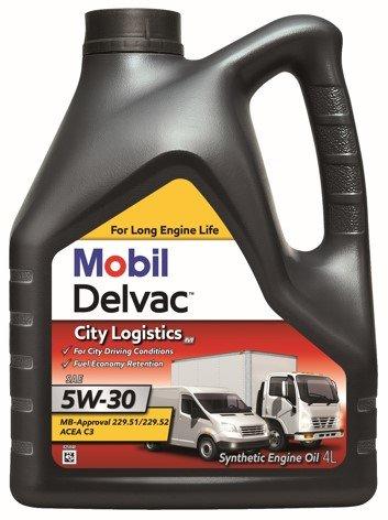 Mobil Delvac City Logistics M 5W30 Mobil Delvac City Logistics M 5W-30