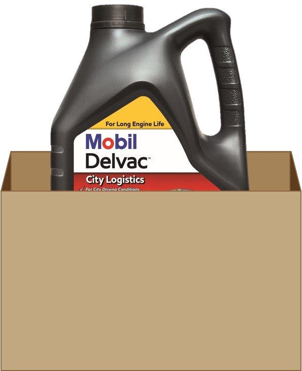 Mobil Delvac City Logistics R 5W30