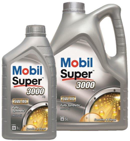 Mobil Super 3000 x1 5W40 Mobil 5w40