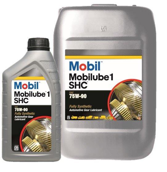 Mobilube 1 SHC 75W90 transmissieolie achterasolie