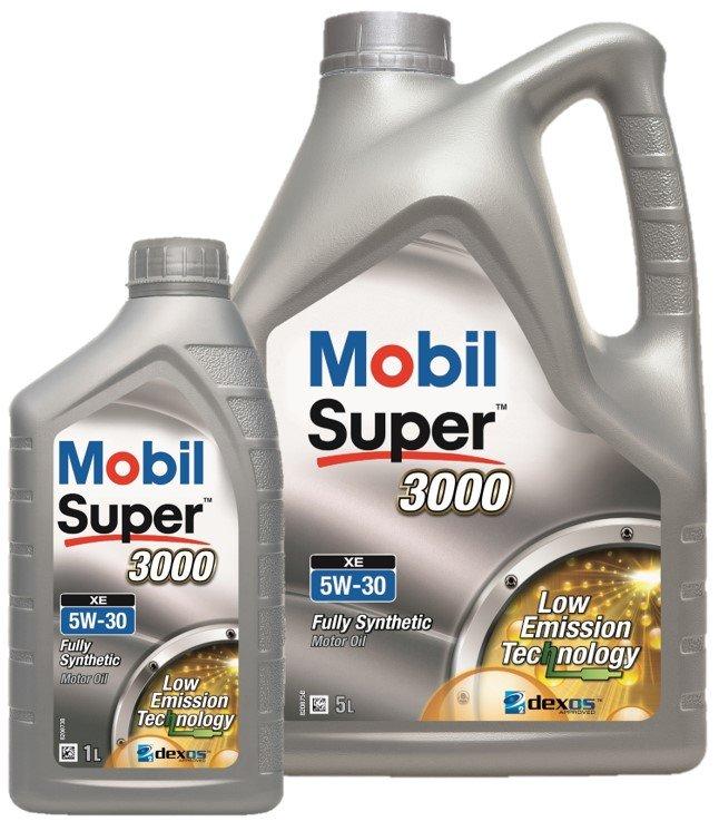 Mobil Super 3000 XE 5W30 Mobil 5W30