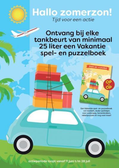 Spel- en Puzzelboekje Esso en Autofood