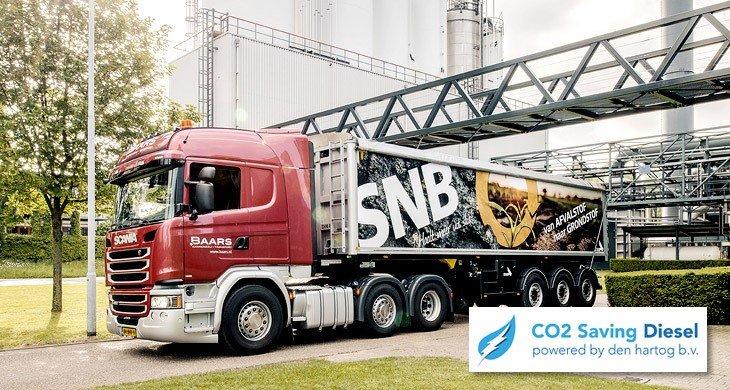 Duurzamer transport SNB HVO diesel
