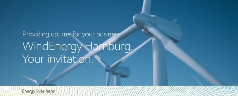 Wind Energy Hamburg 2018 uitnodiging