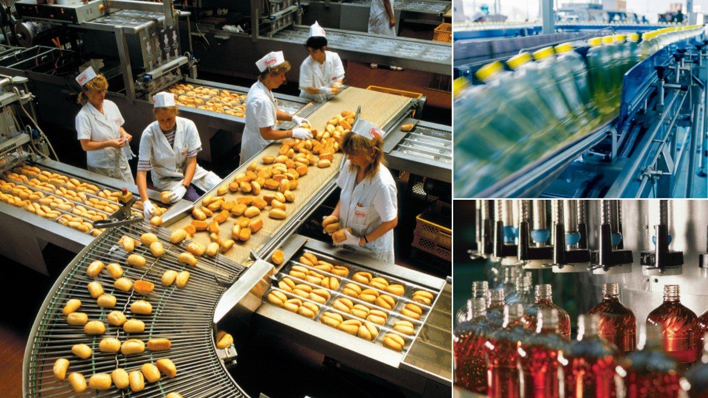 Voedingsmiddelenindustrie voedselveilig