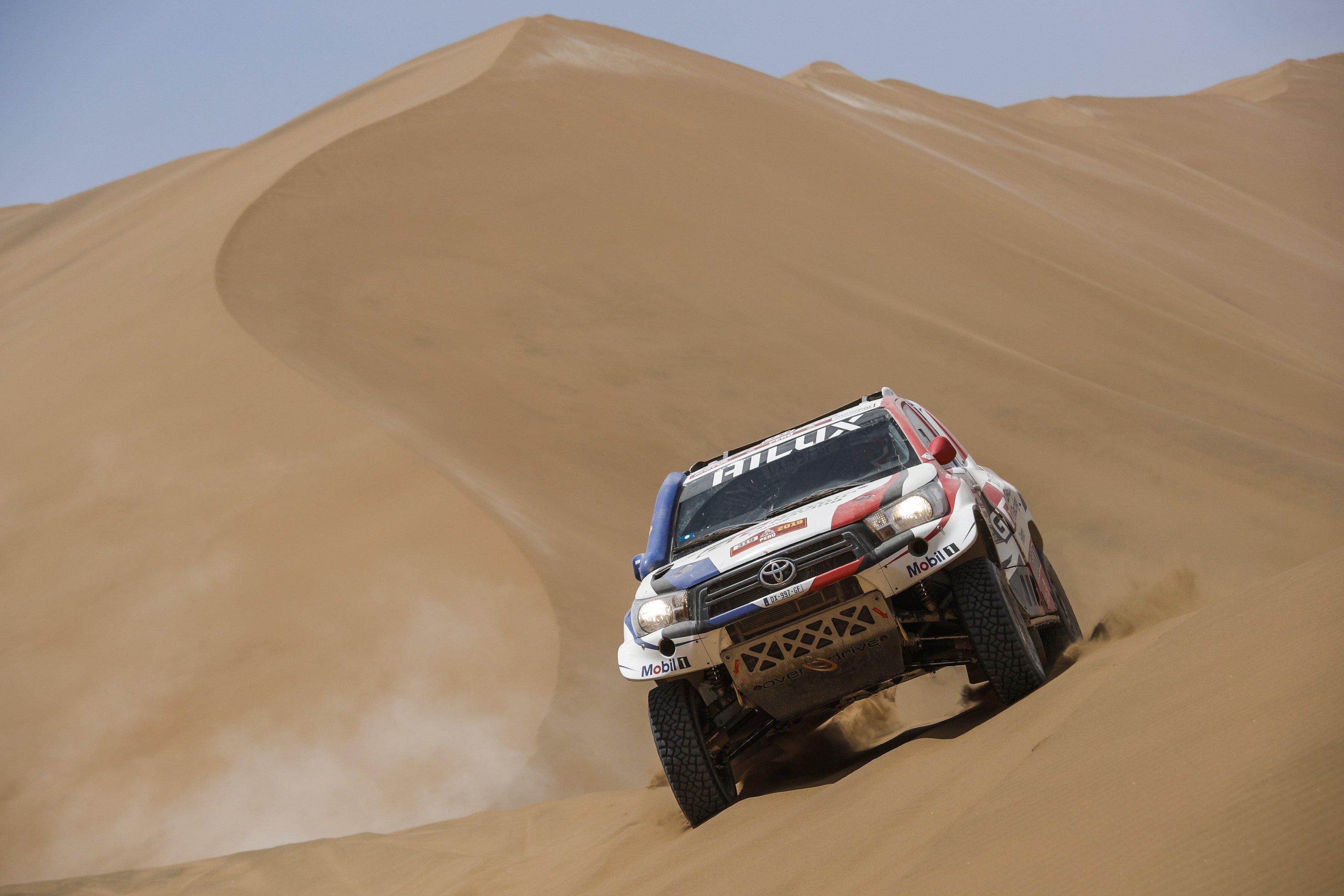 Mobil 1 in Dakar Rally 2019
