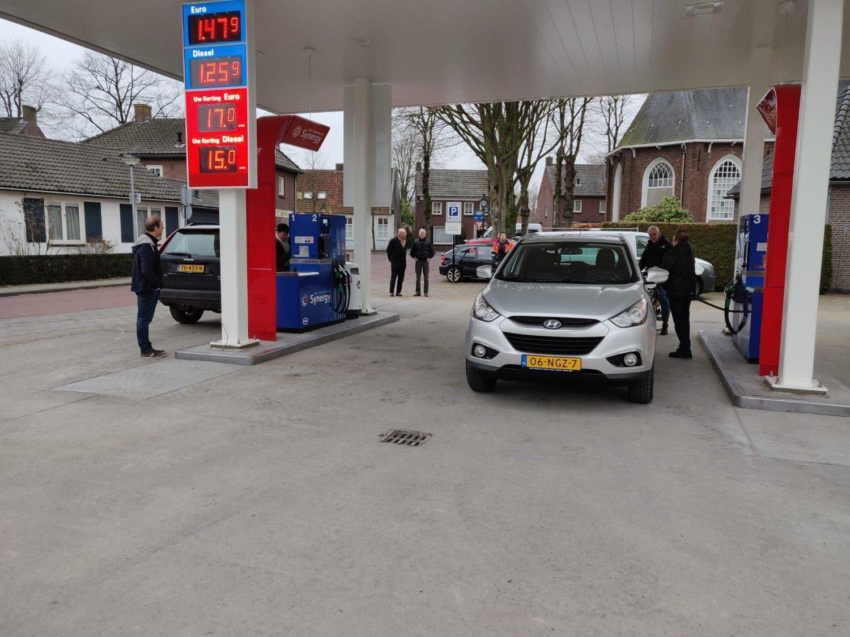 Eerste klanten Esso Verstappen
