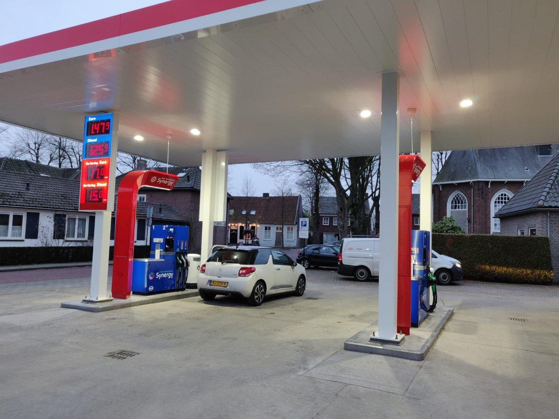 Nieuwe tankstation Esso Express Verstappen