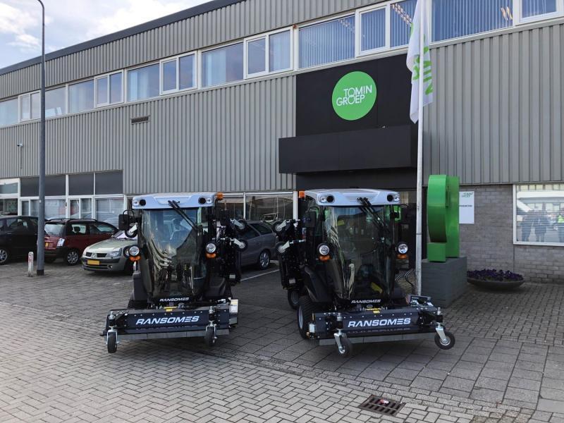 Groen grasmaaien in Nieuwegein