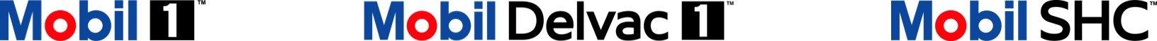 Mobil 1 logo balk