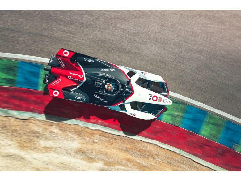 Mobil smeermiddelen voor Porsche in de Formule E