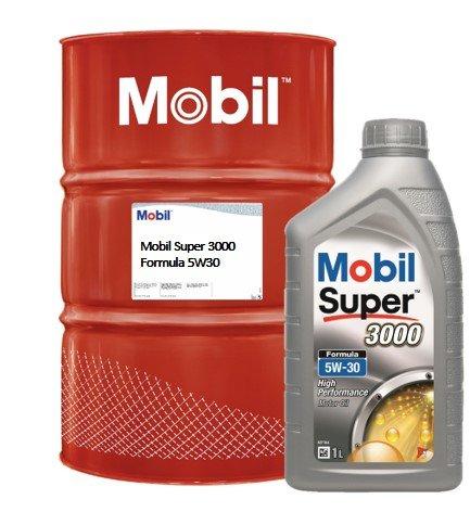 Mobil Super 3000 Formula 5W30 intro