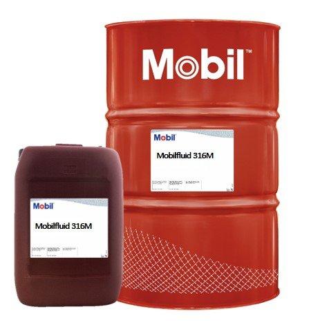 Mobilfluid 316M hydraulische olie voor pompen