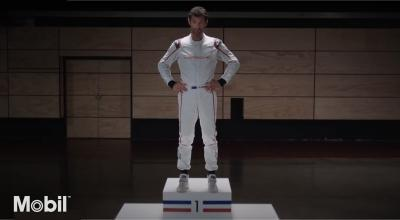 Mobil 1 Porsche Red Bull Racing en Mark Webber