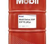 Mobil Delvac XHP ESP FE 5W30 vat 208 liter voorkant