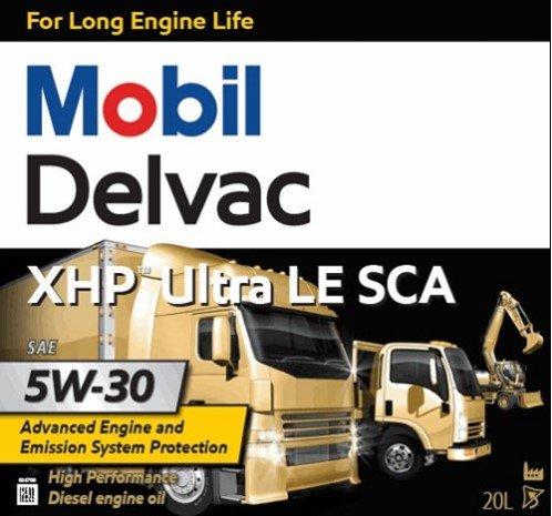 Mobil Delvac XHP Ultra LE SCA 5W30
