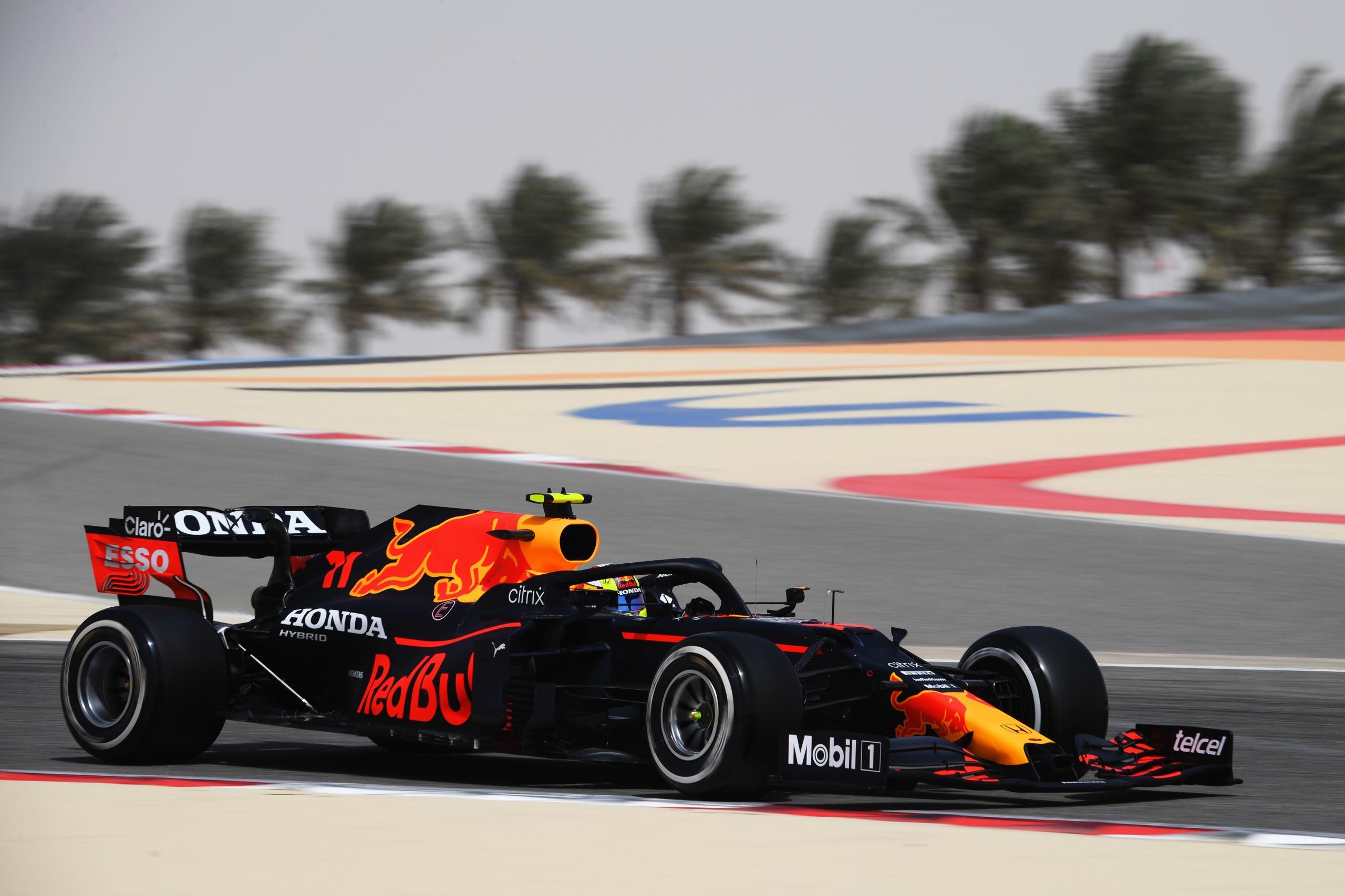 Max Verstappen in Bahrein