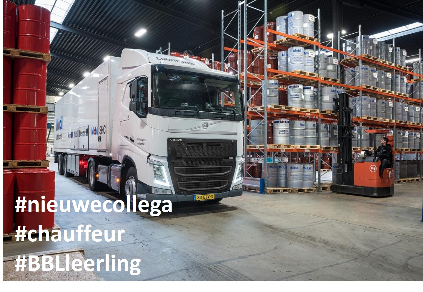 Enthousiaste leerling chauffeur vacature 2